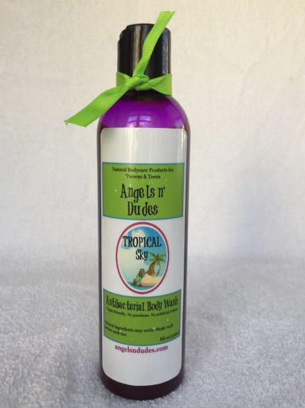 Homemade Antibacterial Body Wash