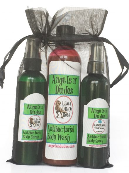 Lather & Spray Gift Set