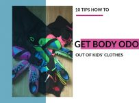 Get Body Odor Out of Kids' Clothes