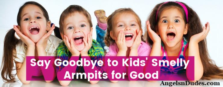 Kids Smelly Armpits