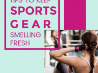 Keep Sports Gear Smelling Fresh