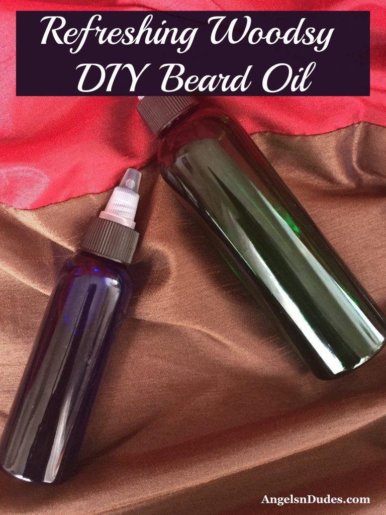 Woodsy DIY Beard Oil