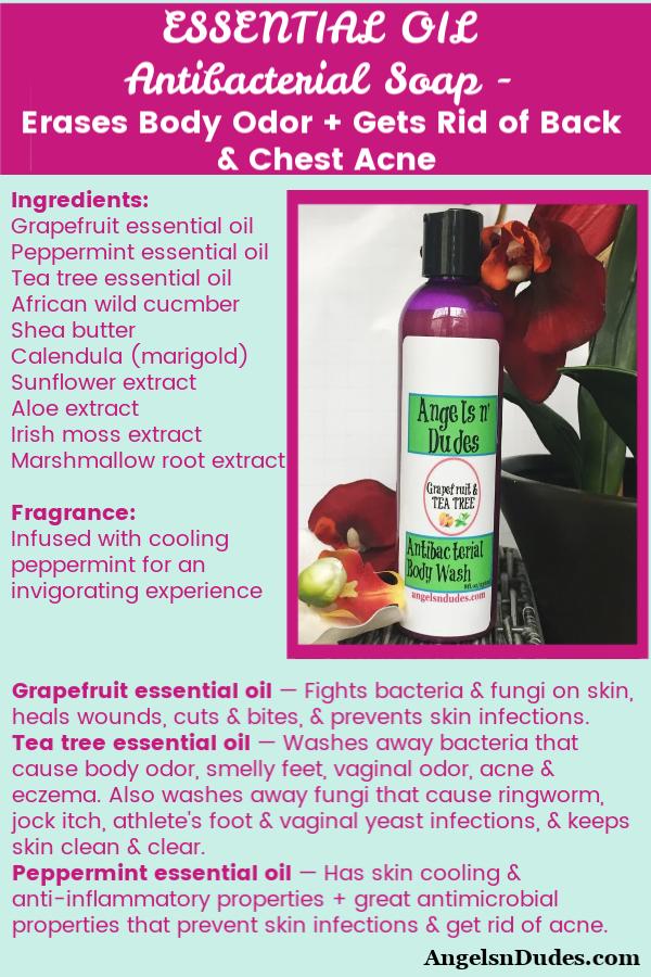 Antibacterial Soap for Body Odor