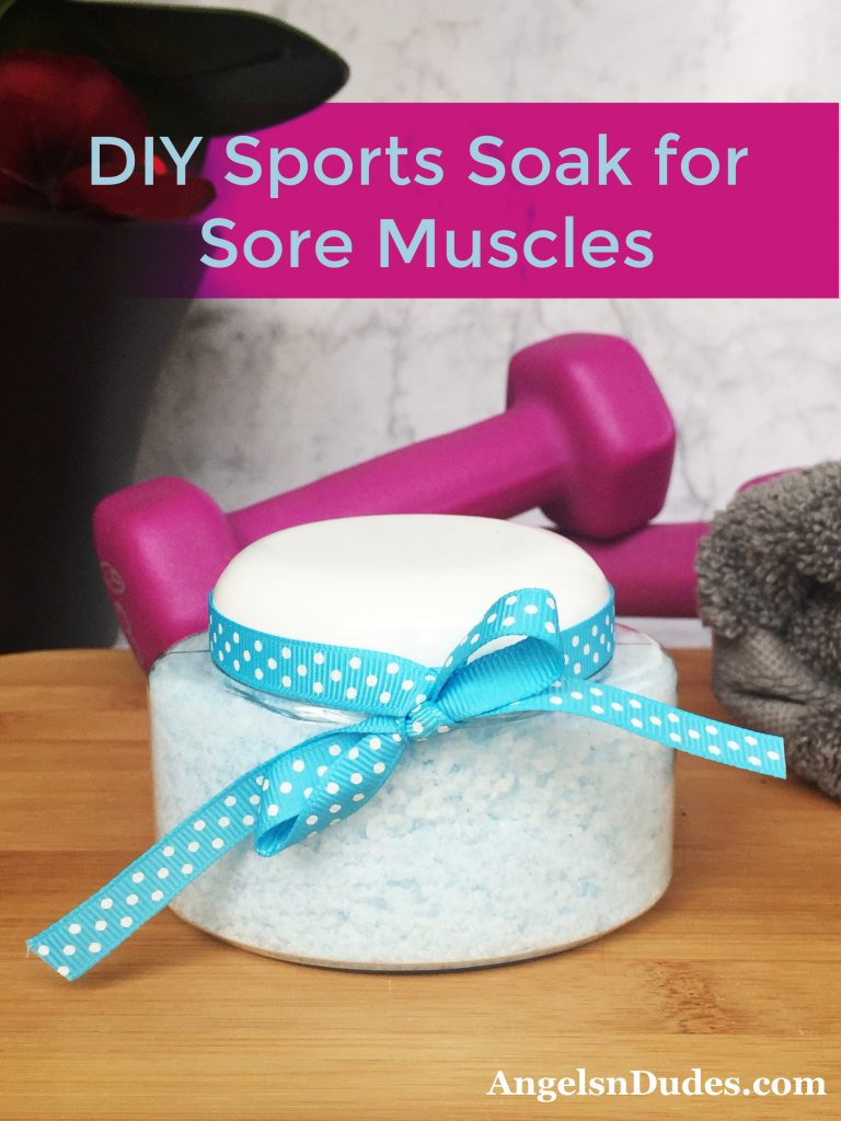 DIY Sports Soak