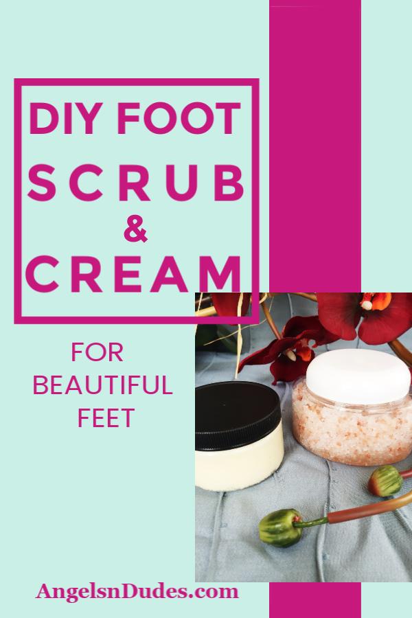 DIY Foot Scrub