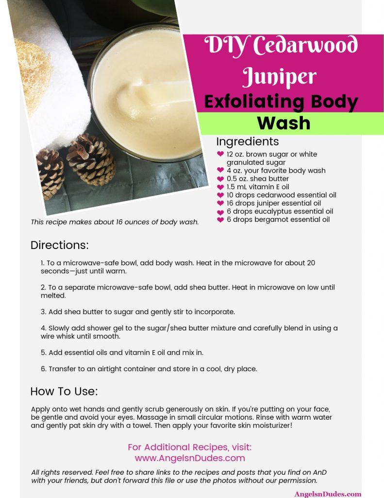 Exfoliating Body Wash