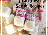 Fall Sugar Scrub Recipes