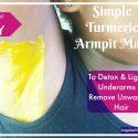 Turmeric Armpit Mask