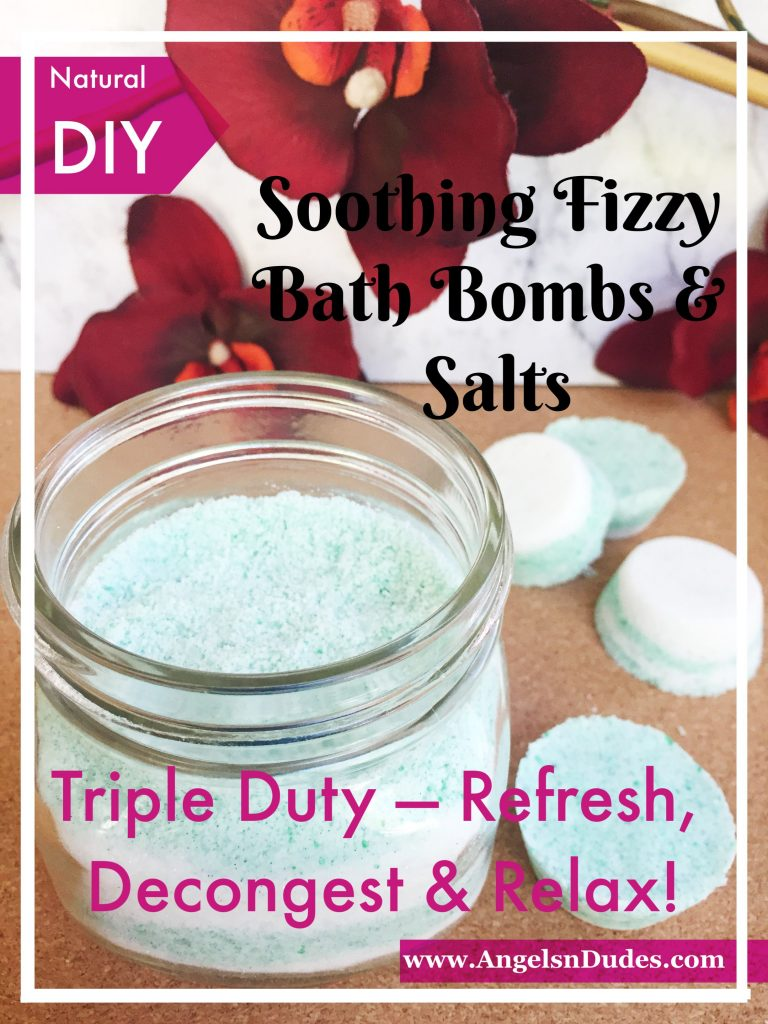 Fizzy Bath Bombs